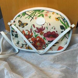 Demanded Rare Gucci Flora Floral Vintage Crossbody